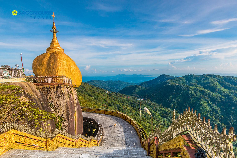 TOUR MYANMAR SAIGONTOURIST - VUNG ĐẤT VÀNG [YANGON - BAGO - KYAIKHTIYO - GOLDEN ROCK]