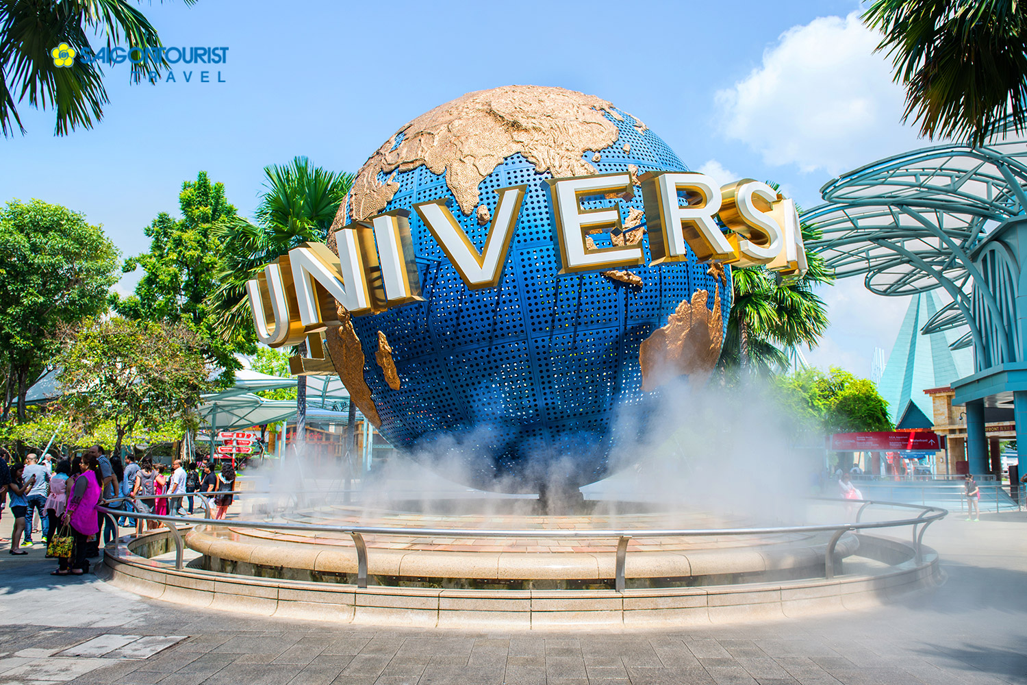 Du lịch Singapore [Gardens By The Bay - Madame Tussauds - Universal Studios - Wings Of Time]